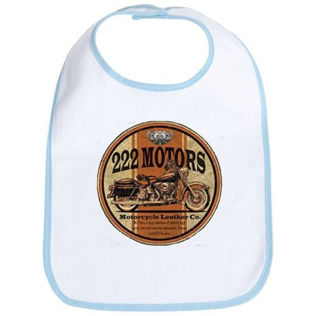 222 Motors Leather Store Bib