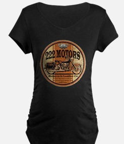 222 Motors Leather Store Maternity T-Shirt