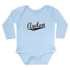 Ayden, Retro, Body Suit