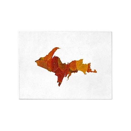 Autumn Leaves U.P. 5'x7'Area Rug