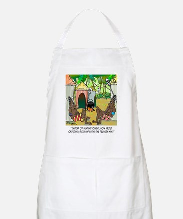 Two Lines Name Apron