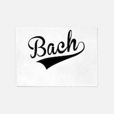 Bach, Retro, 5'x7'Area Rug