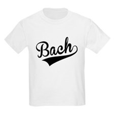 Bach, Retro, T-Shirt