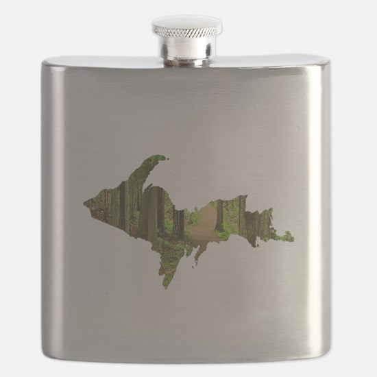 U.P. Forest Path Flask