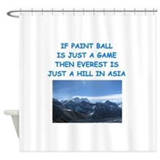 PAINT6 Shower Curtain