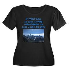 PAINT6 Plus Size T-Shirt