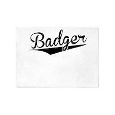 Badger, Retro, 5'x7'Area Rug