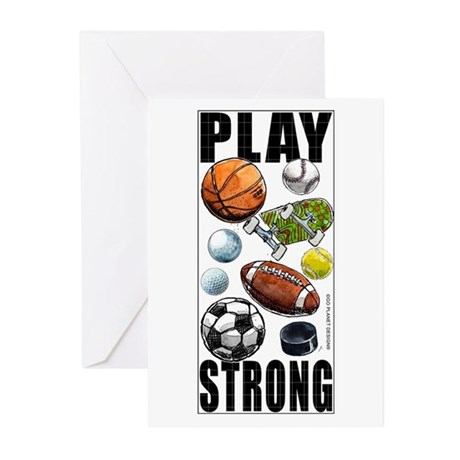 All Sports Congrats! Greeting Cards (Pack of 6)