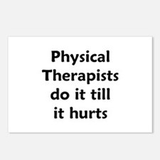 PTs do it till it hurts Postcards (Package of 8)