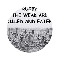 RUGBY6 Ornament (Round)