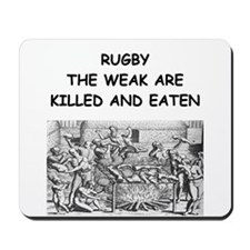 RUGBY6 Mousepad