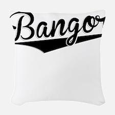 Bangor, Retro, Woven Throw Pillow