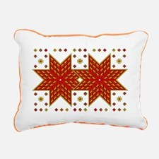 Warm Quilt Rectangular Canvas Pillow
