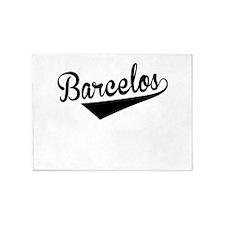 Barcelos, Retro, 5'x7'Area Rug