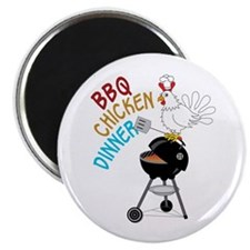 BBQ CHICKEN DINNER Magnets
