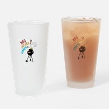 BBQ CHICKEN DINNER Drinking Glass