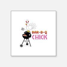 BAR-B-Q CHICK Sticker