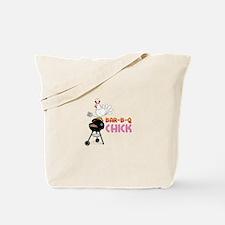 BAR-B-Q CHICK Tote Bag