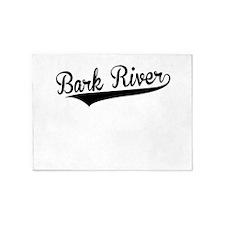 Bark River, Retro, 5'x7'Area Rug
