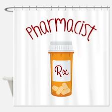 Pharmacist RX Shower Curtain