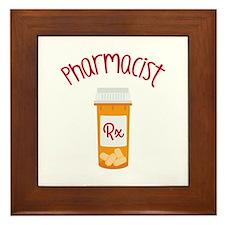 Pharmacist RX Framed Tile