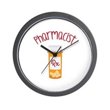 Pharmacist RX Wall Clock