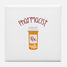 Pharmacist RX Tile Coaster