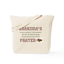 Grandma's Prayer Tote Bag