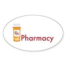 RX Pharmacy Decal