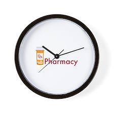 RX Pharmacy Wall Clock
