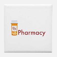RX Pharmacy Tile Coaster