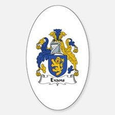 Evans (Wales) Oval Decal