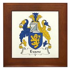 Evans (Wales) Framed Tile
