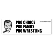 Pro Choice Bumper Bumper Sticker