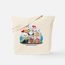 Puppies Manifesto Tote Bag
