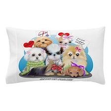 Puppies Manifesto Pillow Case