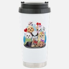 Puppies Manifesto Travel Mug