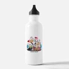 Puppies Manifesto Water Bottle