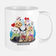 Puppies Manifesto Small Mugs