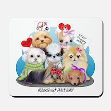 Puppies Manifesto Mousepad