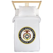 US Navy Chaplain Twin Duvet