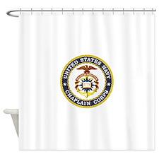 US Navy Chaplain Shower Curtain