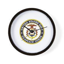 US Navy Chaplain Wall Clock