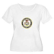 US Navy Chaplain Plus Size T-Shirt