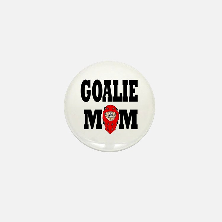 Goalie Mom Mini Button