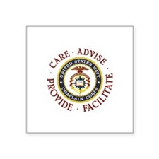 CARE.ADVISE.PROVIDE.FACILITATE Sticker