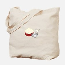 Bunco Popcorn Cocktail Tote Bag
