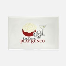 EAT.DRINK.PLAY BUNCO Magnets