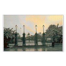 Old Jackson Square Rectangle Decal