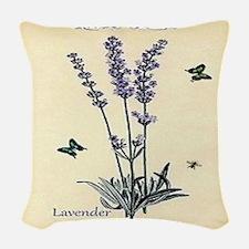 Lavender Woven Throw Pillow